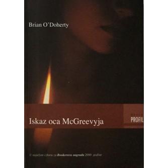 BRIAN O'DOHERTY : ISKAZ OCA McGREEVYJA