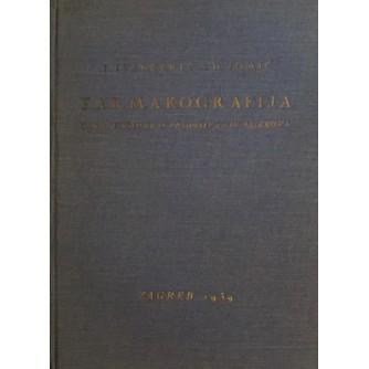 I. IVANČEVIĆ, D. TOMIĆ : FARMAKOGRAFIJA