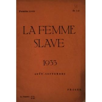 LA FEMME SLAVE 1933 AOUT - SEPTEMBRE