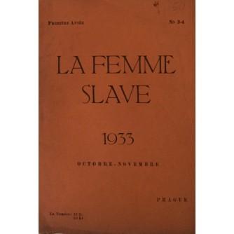 LA FEMME SLAVE 1933 OCTOBRE - NOVEMBRE