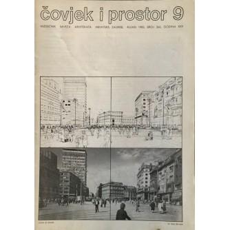 ČOVJEK I PROSTOR ARHITEKTURA 1983. BROJ  366