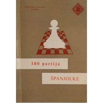 VATROSLAV PETEK : 100 PARTIJA ŠPANJOLKE