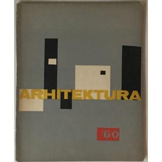 ARHITEKTURA ČASOPIS 1960. BROJ 1-3 : OPREMIO: VJENCESLAV RICHTER