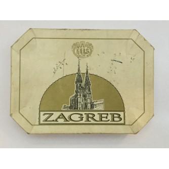 ZAGREB DESERT, MLIJEČNO - ČOKOLADNI PUNJENI DESERT, KRAŠ 1997.