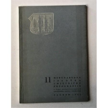 11 MEĐUNARODNA IZLOŽBA UMJETNIČKE FOTOGRAFIJA, ZAGREB 1955.