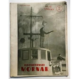 JUGOSLAVENSKI MORNAR - ČASOPIS, BROJ 2  GOD. IV 1948.
