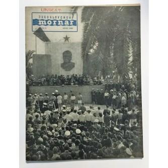 JUGOSLAVENSKI MORNAR - ČASOPIS, BROJ 6  GOD. V 1949.