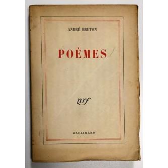 ANDRE BRETON, POEMES, 1948.