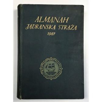 ALMANAH JADRANSKA STRAŽA ZA  1927. GODINU
