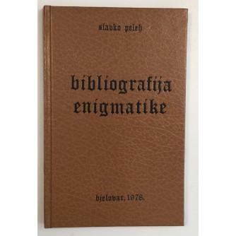 SLAVKO PELEH : BIBLIOGRAFIJA ENIGMATIKE