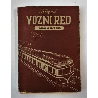 DŽEPNI VOZNI RED 1955