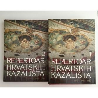 REPERTOAR HRVATSKIH KAZALIŠTA 1 i 2