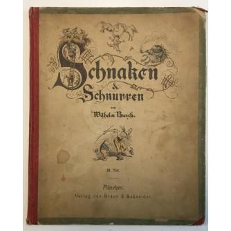 WILHELM BUSCH : SCHNAKEN & SCHNURREN