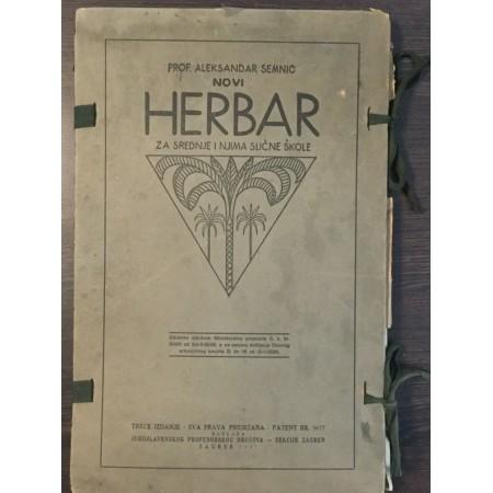 ALEKSANDAR SEMNIC : NOVI HERBAR
