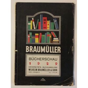 BRAUMÜLLER : BÜCHERSCHAU 1929.