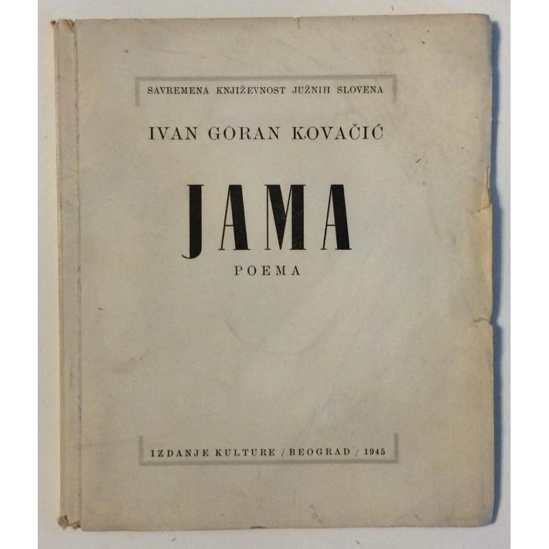 Ivan Goran Kovacic Jama Antikvarijat Vremeplov