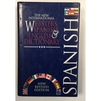 THE NEW INTERNATIONAL WEBSTER'S SPANISH ENGLISH DICTIONARY