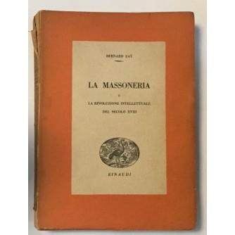 BERNARD FAY: LA MASSONERIA