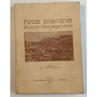 KROZ PLANINE BOSNE I HERCEGOVINE