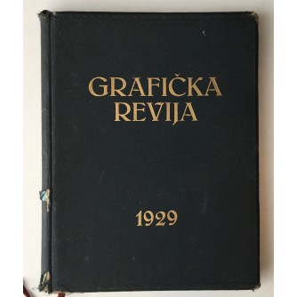 GRAFIČKA REVIJA 1929.