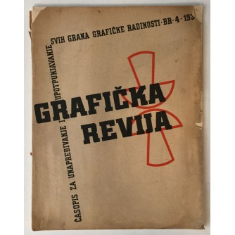 GRAFIČKA REVIJA: BROJ 4 1939