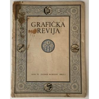 GRAFIČKA REVIJA: BROJ 2 1931