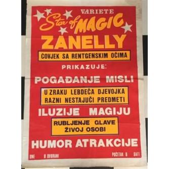 VARIETE STAR OF MAGIC ZANELLY - PLAKAT