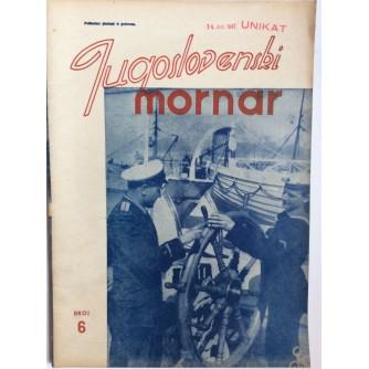JUGOSLOVENSKI MORNAR, ČASOPIS, BROJ 6 - 1947.