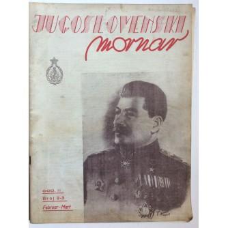 JUGOSLOVENSKI MORNAR, ČASOPIS, BROJ 2-3 - 1946.