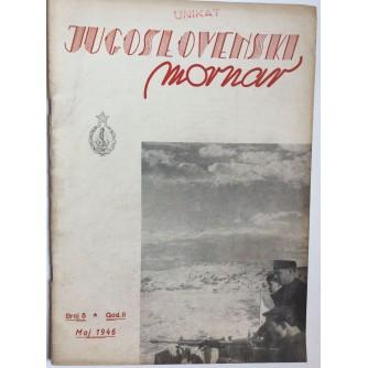 JUGOSLOVENSKI MORNAR, ČASOPIS, BROJ 5 - 1946.