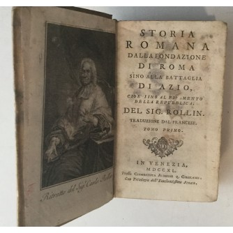 CARLO ROLLIN : STORIA ROMANA DALLA FONDAZIONE DI ROMA