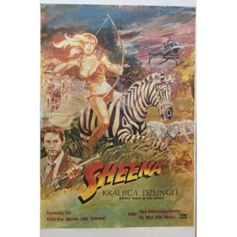 FILMSKI PLAKAT : SHEENA - KRALJICA DŽUNGLE ( SHEENA QUEEN OF THE JUNGLE )