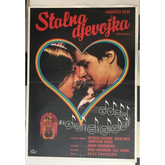 FILMSKI PLAKAT : STALNA DJEVOJKA ( GOING STEADY )