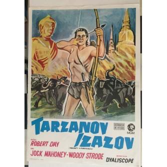 FILMSKI PLAKAT : TARZANOV IZAZOV  ( TARZAN'S 3 CHALLENGES )