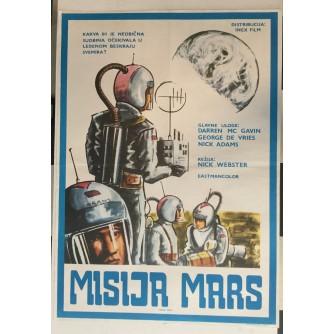 FILMSKI PLAKAT : MISIJA MARS ( MISION MARS )
