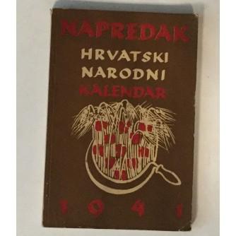 NAPREDAK HRVATSKI NARODNI KALENDAR 1941.