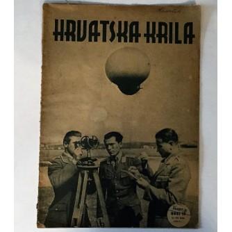HRVATSKA KRILA : ČASOPIS 1942.  BROJ 15