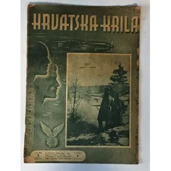 HRVATSKA KRILA : ČASOPIS 1942. BROJ 4
