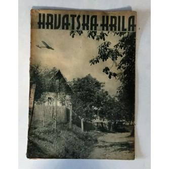 HRVATSKA KRILA : ČASOPIS 1942. BROJ 9