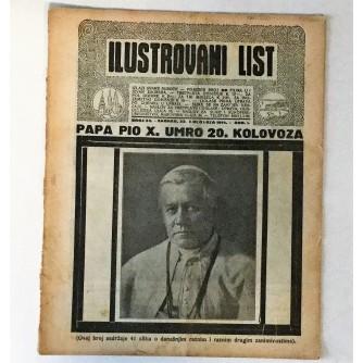 ILUSTROVANI LIST : ČASOPIS 1914. BROJ 34