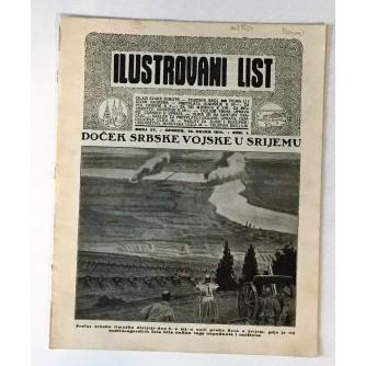 ILUSTROVANI LIST : ČASOPIS 1914. BROJ 37