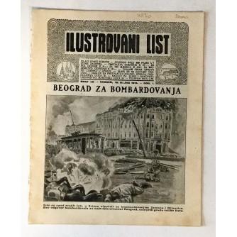 ILUSTROVANI LIST : ČASOPIS 1914. BROJ 38