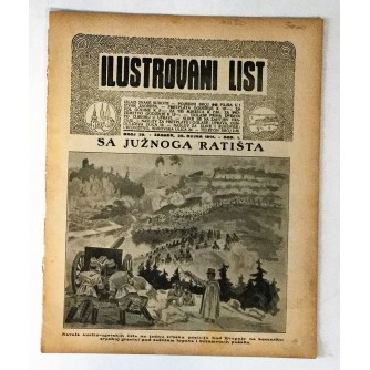 ILUSTROVANI LIST : ČASOPIS 1914. BROJ 39