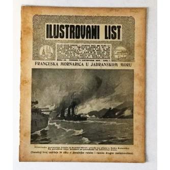 ILUSTROVANI LIST : ČASOPIS 1914. BROJ 40