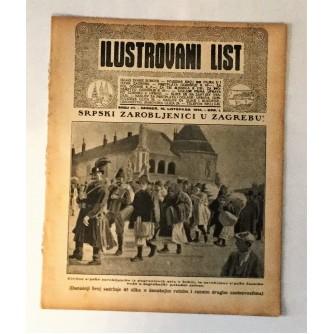 ILUSTROVANI LIST : ČASOPIS 1914. BROJ 41