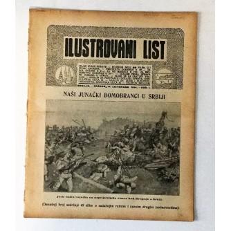 ILUSTROVANI LIST : ČASOPIS 1914. BROJ 42