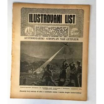 ILUSTROVANI LIST : ČASOPIS 1914. BROJ 43