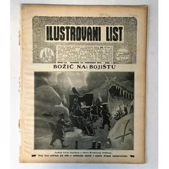 ILUSTROVANI LIST : ČASOPIS 1914. BROJ 52