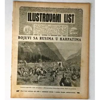 ILUSTROVANI LIST : ČASOPIS 1914. BROJ 51