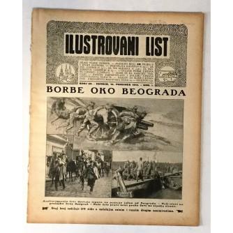 ILUSTROVANI LIST : ČASOPIS 1914. BROJ 50
